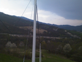 Eco-sustainable poles for aerial Telecommunication cable support.