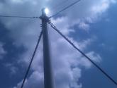Pali Eco-Sostenibili per il supporto di cavi aerei della Rete Fissa di telecomunicazioni